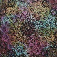 Large Trippy Hippie Tapestry Mandala Bohemian Bedspread Throw Wall