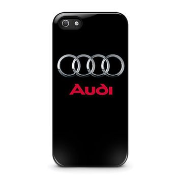 audi iphone 5 5s se case cover  number 2