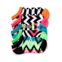 Girls Youth Glow Socks 5 Pack