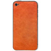 Valentine Goods: iPhone 4/4S Leather Back Brandy, at 40% off!