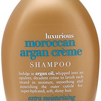 OGX Shampoo with Luxurious Moroccan Argan Creme, 13 Fluid Ounce