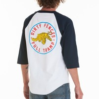 DIRTY FENCES FULL TRAMP BASEBALL TEE
