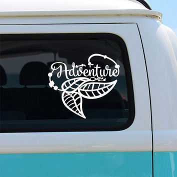 Adventure Bohemian Vinyl Decal Sticker - Car Sticker - Window Decal