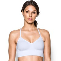 Under Armour Bras: Seamless Solid Low-Impact Sports Bra 1275923 | null