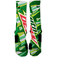 Mountain Dew Custom Nike Elite Socks