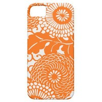 Vintage Abstract Floral Pattern iPhone 5 covers from Zazzle.com
