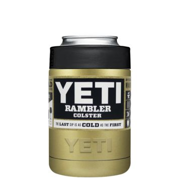 Custom Designed YETI Gold Colster Can Cooler & Bottle Insulator