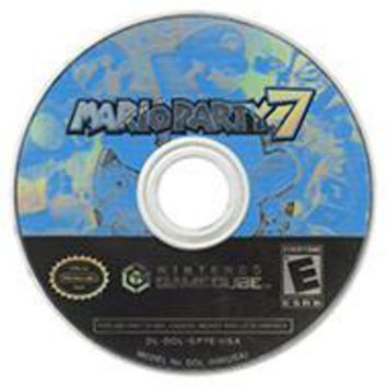 Mario Party 7 for the Gamecube (Disc Only!)