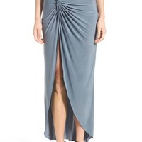 MISSGUIDED Knot Maxi Skirt | Nordstrom
