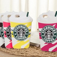 Starbucks mobile phone case for iPhone X 7 7plus 8 8plus iPhone6 6s plus