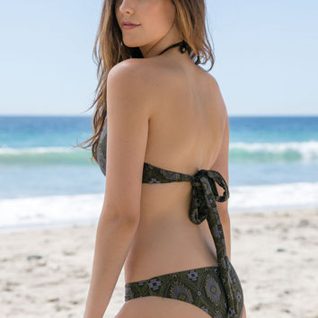 L*Space Swim - Caicos Nights Emma Reversible Bottom | Charcoal