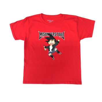 Entree Kids Goku Red Tee