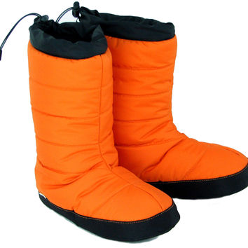 Hut Booties Unisex Puffins™ Avalanche Orange
