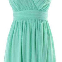 Mint Sequin Dress