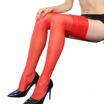 15D Tight Sexy seamed stockings Womens stockings with back seam Transparent Silk Stocking hose Pantyhose meia 9014-2