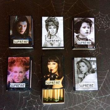 ONETOW American Horror Story Coven Mashup Supreme Witch Matchbox Magnets AHS