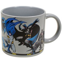 Batman Through the Years Mug - PRE-ORDER NOW, Ships Late October