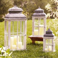 Park Hill Windowpane Lantern