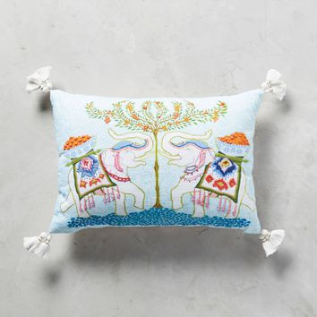 Palace Portrait Pillow