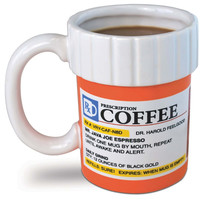 The Coffee Addict Prescription Coffee Mug