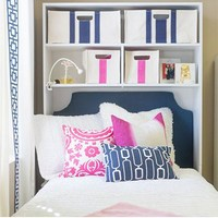Bed Cubby- White