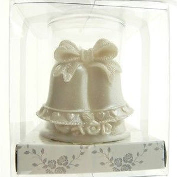 Wedding Bridal Shower Anniversary Party Favor Souvenir Gift Keepsake Ready Made, Votive Candle, Bells Open Top
