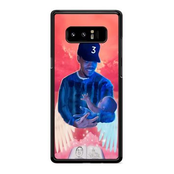 Chance The Rapper 2 Samsung Galaxy Note 8 Case