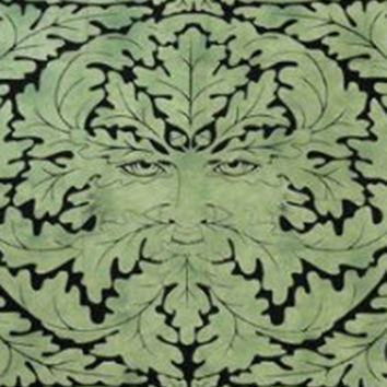 Mandala Blanket - Celtic Greenman