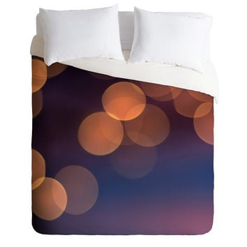 Bird Wanna Whistle Lights Duvet Cover