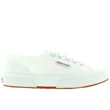 73b63c787ff Superga 2750 COTU Classic - White Canvas Lace-Up Sneaker