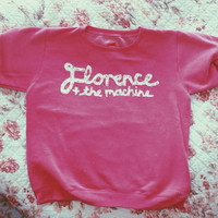 reserved for Katie- Florence and the machine crewneck