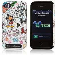 Mickey Mouse iPhone 4/4S Case by Dooney & Bourke - White | Disney Store