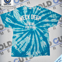 "Cold Cuts Merch - Neck Deep ""Generic Pop Punk"" Tie Dye Shirt"