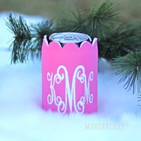 Monogrammed Scalloped Koolie | Marleylilly