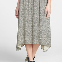 Eileen Fisher Print Midi Skirt