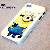 Minion iPhone 4s iphone 5 iphone 5s iphone 6 case, Samsung s3 samsung s4 samsung s5 note 3 note 4 case, iPod 4 5 Case