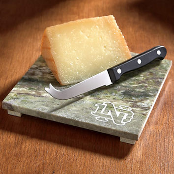 F1349D Connemara Marble Cheese Board | University Of Notre Dame