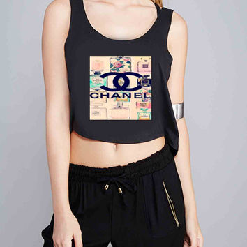 Cute Chanel Vintage Perfume for Crop Tank Girls S, M, L, XL, XXL *07*
