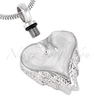 """Cremation """"Dripping Heart"""" Urn Necklace"""
