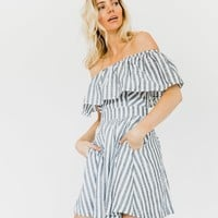 Bluebell Off The Shoulder Dress - Luca + Grae