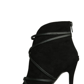 Haliey Booties (Black Suede)