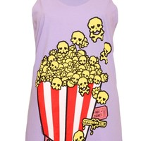 NewBreed Girl Skully Corn Women's Tank - NewBreed Girl