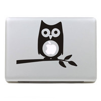 Owl Mac Book Mac Book Air Mac Book Pro Mac Sticker Mac Decal Apple Decal Mac Decals