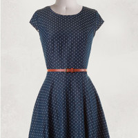 Picture-Perfect Polka Dot Dress