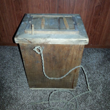 Rare Vintage Antique 1910s-1920s Wooden Eastman Kodak Amateur Image Photo Printer Box