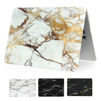 Marble Texture Case For Apple Macbook Air 11 inch A1370 A1465 Hardshell Cover for Macbook air 13 inch A1369 A1466 Laptop Cases