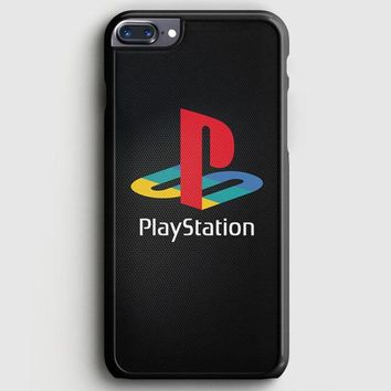 Sony Playstation Logo Dark iPhone 8 Plus Case