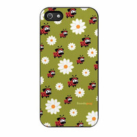 lady pug pattern case for iphone 5 5s