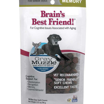 Ark Naturals Gray Muzzle Brain's Best Friend 90 Chews