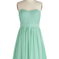 Chic My Name Dress in Seafoam | Mod Retro Vintage Dresses | ModCloth.com